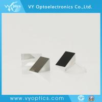 Buy cheap optical float glass wedge prism lens with aluminium coating on side from wholesalers