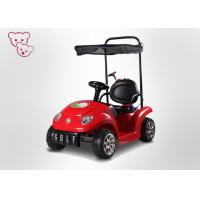 Buy cheap 6V Kids Battery Powered Toy Vehicle Baby Electric Car Price With Canopy from wholesalers