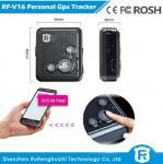 Buy cheap Key chain personal gps tracker kids old people reachfar rf-v16 from wholesalers