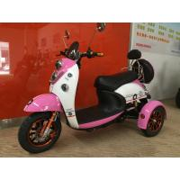 Buy cheap Electric Tricycle Scooter With 800W Brushless Powered Tricycles For Adults Lead Acid from wholesalers