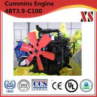 Buy cheap Cummins 4BT3.9-C100 4 Cylinder Stationary Engine from wholesalers