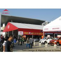 Buy cheap Flame Retardant Clear Marquee Exhibition Tent / Outdoor Trade Show Tents product