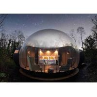 Buy cheap Hotel Clear PVC Inflatable Bubble Tent 4m Diameter With Blower from wholesalers
