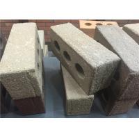 Multi Holes White Brick Veneer , Brick Facade Exterior Wall 210x100x65mm