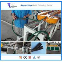 Buy cheap Single Wall Flexible Plastic Corrugated Conduit Pipe Making Machine Corrugated Tube Corrugator Machine from wholesalers