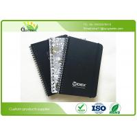 Buy cheap Spiral Binding Hardcover College Ruled Notebook With Black Cardboard Cover Material from wholesalers