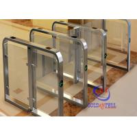Buy cheap Fast Speed automatic swing  barrier gate for station airport and Fitness Gym from wholesalers