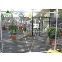 Buy cheap Welded Mesh Temporary Site FencingWith 42 Microns Hot Dipped Galvanized from wholesalers