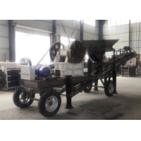 Buy cheap Mining Machinery Mobile 30 Ton/H Jaw Crusher Machine from wholesalers