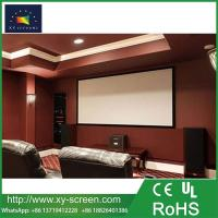 Buy cheap XYSCREEN 120 inch Fixed Frame 2.35:1 Projector Screen with White/Silver/Grey Fabric from wholesalers