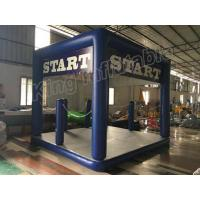 Buy cheap Blue Colour Outdoor Shadow Protection Inflatable Beach Tent For Water Park Use from wholesalers