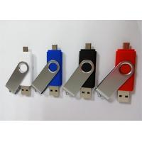 Buy cheap Dual Port USB OTG Drive For Smart Phone A Grade 32GB / 64GB OTG Pendrive from wholesalers