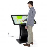 Buy cheap Electronic Touch Screen Display Kiosk , Mall Display Kiosks With 10pt IR Screen from wholesalers