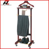 Buy cheap Mobile Men Valet Stands with Four Casters-Clothes Valet Stand from wholesalers