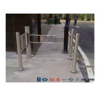Buy cheap Pedestrian Entrance Automatic Biometric Access Control System Swing Barrier product