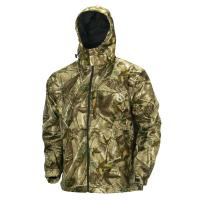 Buy cheap Functional Hooded Soft Shell Camo Fishing Clothing , Water-repellent 100% Polymicro Shell Hunting Camo Jacket from wholesalers
