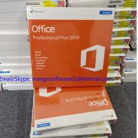 Buy cheap Global Area Microsoft Office Professional 2016 Product Key , Office 2016 Retail Key DVD Box from wholesalers