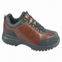 Buy cheap EVA + Rubber Safety Shoe, Genuine Leather Upper from wholesalers