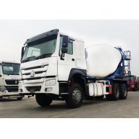 Buy cheap Heavy Duty Concrete Transit Mixer Truck 371HP 6x4 10 Cubic Mixer Tank from wholesalers