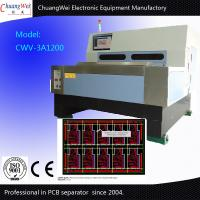 Buy cheap V Cut PCB Depaneling Machine / PCB Separate 2mm Blade Thickness from wholesalers