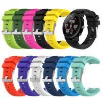 Buy cheap Soft Silicagel Sports Watch Band Strap For HUAMI Amazfit Stratos Smart Watch 2 Smartwatch Watach Band Sporting Goods Acc from wholesalers