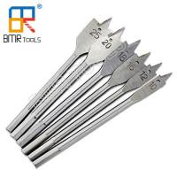 Buy cheap BMR TOOLS Industrial Use 6pcs Flat Wood Drill Bit/Spade Paddle Flat Drill Set PVC Bag Pack from wholesalers