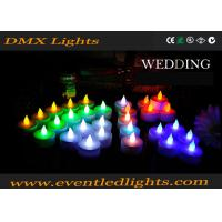 Buy cheap Wedding Decoration Rechargeable Led Candles , Wax Electronic Candles from wholesalers