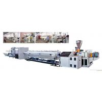 Buy cheap Double Screw Pipe Extrusion Machine / Pvc Pipe Making Machine For Irrigation from wholesalers