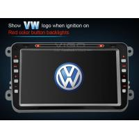 Buy cheap 8 Inch Red / Green VW Sat Nav DVD Passat B6 Tiguan Touran Stereo VVW8501 from wholesalers