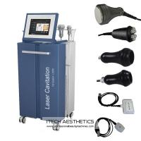 Buy cheap Vacuum / 40Khz Cavitation / RF / Lipo Laser Slimming Machine For Fat Removal product