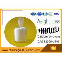 Buy cheap 99% Purity Pharmaceutical Raw Materials Calcium pyruvate CAS 52009-14-0 from wholesalers