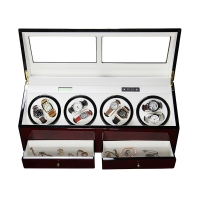 Buy cheap 8 Slots Automatic Motor Wooden Watch Winder Automatic Watch Winder Leather Watch Winder 8 Slots Watch Winder from wholesalers