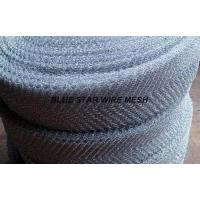 Buy cheap Crimped / Corrugated Knitted Wire Mesh Round / Flat Wire Stainless Steel / Inconel 600 & 601 / Monel 400 from wholesalers