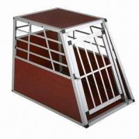 Buy cheap Detachable Dog Cage, Made of Aluminium Alloy, Suitable for Vehicle from wholesalers