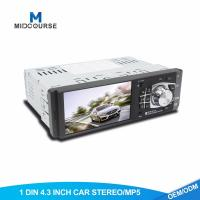 Buy cheap 1GB 1 Din Car Stereo With Backup Camera TFT LCD Screen MP5 Multimedia Support from wholesalers