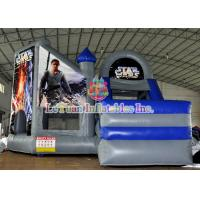 Buy cheap Star War Inflatable Bouncy Castle / Theme Bouncer House with Logo Printing from wholesalers
