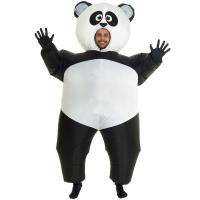 Buy cheap Inflatable Panda Costumes Halloween Party Suit Fat Blow Up Balloon Adult Funny from wholesalers