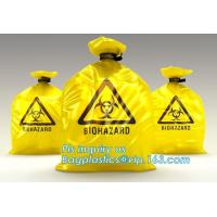 Buy cheap Color Custom Super Large Biohazard Waste Bag, Biohazard Collection Bags/Custom Colored sterile medical bags bags for Lab from wholesalers