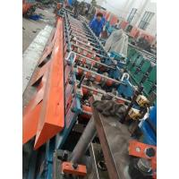 Buy cheap Chain Drive 18 Stations Fire Damper Metal Fabrication Equipment Roll Forming Speed 10m / min from wholesalers