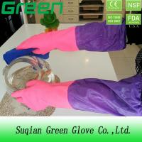 Buy cheap Cleaning Washing Waterproof Pvc Thick Acid And Alkali Resistant Gloves from wholesalers