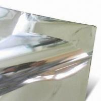 Buy cheap Aluminum PET Film with 48 to 54 Inches Width, Customized Sizes are Accepted product