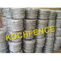 Buy cheap High Tensile Barbed Wire Fence Galvanized Or PVC Coated Surface Treatment from wholesalers