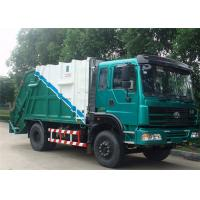 Buy cheap Dongfeng 4x2 6cbm Garbage Compactor Truck DFA1080SJ11D3 Hydraulic Refuse Garbage Truck from wholesalers