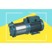 Buy cheap Stainless Steel Multistage Horizontal Centrifugal Pump With 75M Max Head , 2.5HP from wholesalers