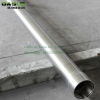Buy cheap Hot sale 9 5/8'' of API stalinless steel 306L pipe tube for well drilling from wholesalers