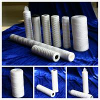Buy cheap PP String Wound Filter Cartridges with Ss Core or PP Core for water treatment from wholesalers