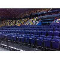 Telescopic Indoor Bleacher Seating , Retractable Stadium Seating For Theater / Cinema