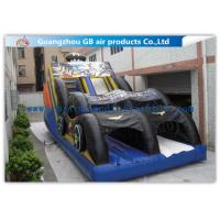 Buy cheap Funny Bat Backyard Water Slide Inflatable , Bounce House Water Slide For Kids product