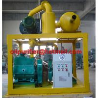 Buy cheap transformer evacuation system,vacuum pump set,transformer oil injection ,vacuum pumping, exhausting and dehumidifying from wholesalers