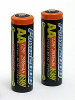 Buy cheap diameter 14.5 mm aa nimh rechargeable batteries 1.2V 2600mah for digital camera from wholesalers
